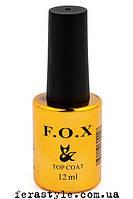 Топовое покрытие для ногтей F.O.X Top Rubber 12мл