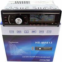 Автомагнитола MP3 HS MP 813, Магнитола 1 din, магнитола 1 дин, автомобильная магнитола, MP3, FM, USB