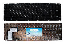 Оригінальна клавіатура для ноутбука HP Pavilion 15-B, 15T-B, 15Z-B series rus,black, без рамки
