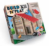 Творчество Конструктор для постройки дома Build n play