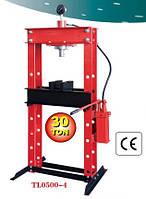 Пресс гидравлический 30 т (напольный) с вертикальным насосом и пневмоприводом 97380/TL0500-4 97380/TL0500-4
