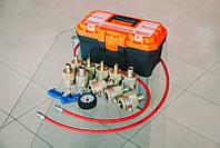 Комплект для восстановления гидравлических (газо-масляных) стоек и амортизаторов 7 насадок KVGS-7