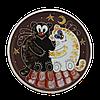 Тарелка потата «Коты толстые»