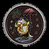 "Тарелка потата ""Кот с зонтом"""