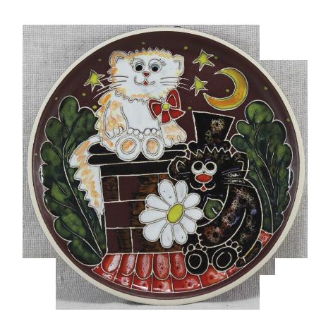 Тарелка потата «Котята на крыше»