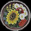 Декоративная тарелка (б) «Букет»