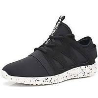 Мужская спортивная обувь весна лето комфорт пу открытый спортивный случайный шнурок работает 05824957