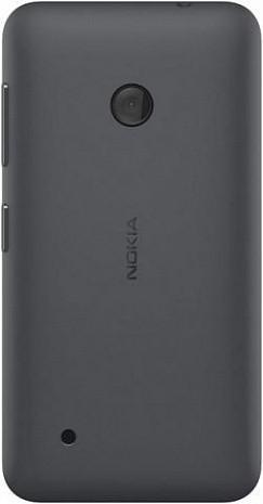 Задняя крышка Nokia 530 Lumia чёрная