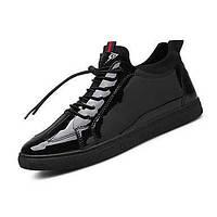 Мужских кроссовки весна лето осень зима комфорт Пу открытой спортивная случайной шнуровку ходьба 05674994