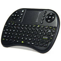 UKB-500-RF 2.4 ГГц мини беспроводная клавиатура со светодиодным индикатором, тачпадом