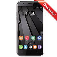 "Смартфон 5.5"" OUKITEL U7 Plus, 2GB+16GB Серый 4 ядра MediaTek камера GalaxyCore GC8024 8 Мп Android 7"