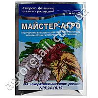Мастер-агро для декоративно-лиственных растений 24.10.15 25 г