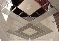 """Плитка зеркальная """"серебро"""" треугольник 400мм фацет.зеркальная плитка с фацетом.плитка треугольная., фото 1"""