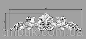 Горизонтальный декор 46 накладки для дверей - 265х65 мм, фото 2