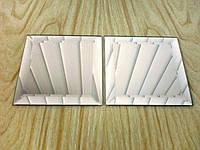 Плитка зеркальная зеленая, бронза, графит400*500 фацет.плитка цветная.купить плитку.