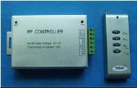 Контролер радіо 12 А для світлодіодних стрічок RGB