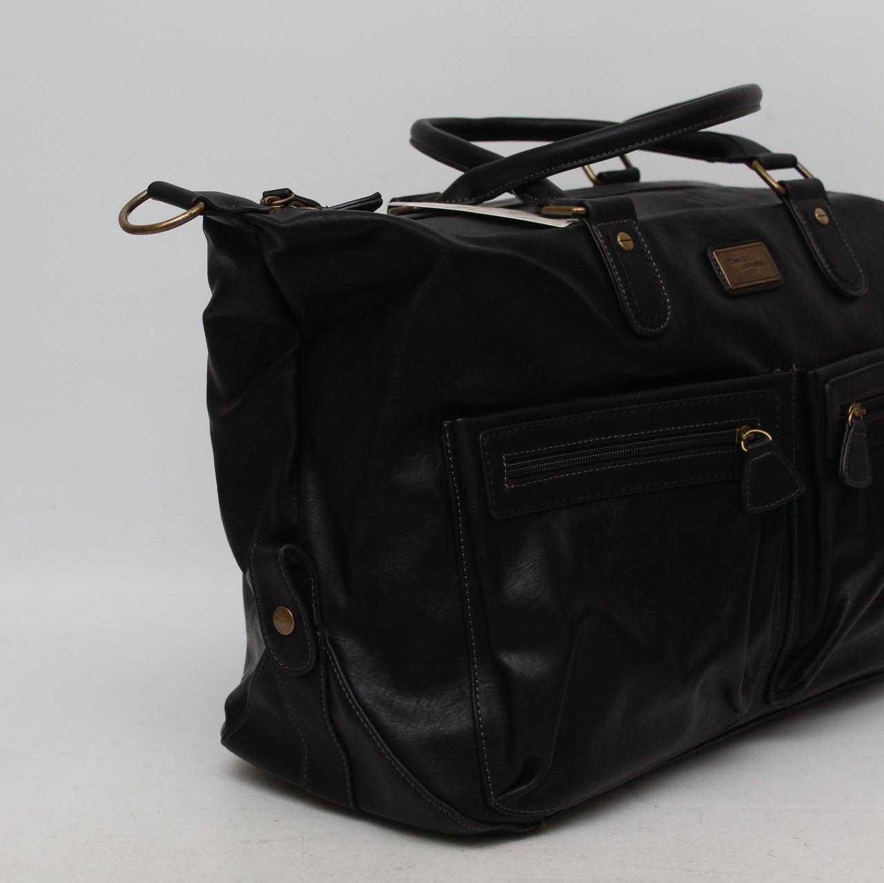 ef6e3f885a52 ... Мужская дорожная сумка David Jones в дорогу кожаная (кожа  искусственная) / Саквояж мужской кожаный ...