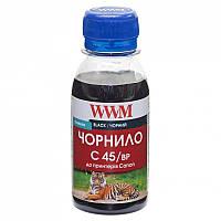 Чернила WWM для Canon PG-440/PG-445/PGI-450Bk 100г Black Pigmented (C45/BP-2)