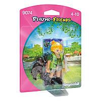Конструктор Playmobil Смотритель зоопарка 9074 ТМ: Playmobil