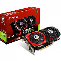 Видеокарта MSI GeForce GTX1050 Ti 4096Mb GAMING X (GTX 1050 Ti GAMING X 4G)