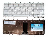 Оригинальная клавиатура для ноутбука LENOVO IdeaPad B460, V460, Y450, Y460, Y550, Y560, rus, white