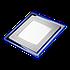 Светодиодный врезной светильник Bellson Blue квадрат (18 Вт, 190х190 мм), фото 2