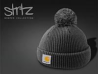 Модная шапка с помпоном Carhartt