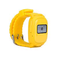 Детские телефон-часы с GPS Nomi Watch W1 Yellow (239664)