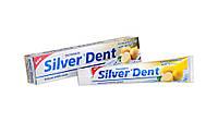 Зубная паста  Silver Dent Экстра отбеливания с лимоном