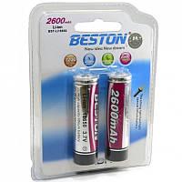 Аккумулятор BESTON 18650 2600mAh 2шт (AAB1821)