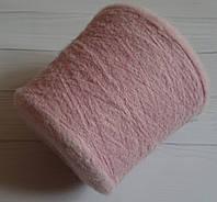 Sound. 60% альпака,10% меринос,30%полиамидная основа, 1000 м в 100 г. Пыльно-розовый.