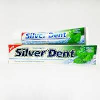 Зубная паста Silver Dent Тройное действие