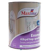 """Эмаль алкидная высококачественная по металлу и дереву """"Maxima"""" 0.9л  Уценка Maxima"""
