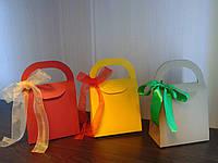 Подарункова сумка з бантом
