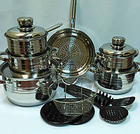 Набор посуды Royalty Line RL-1802  18 предметов