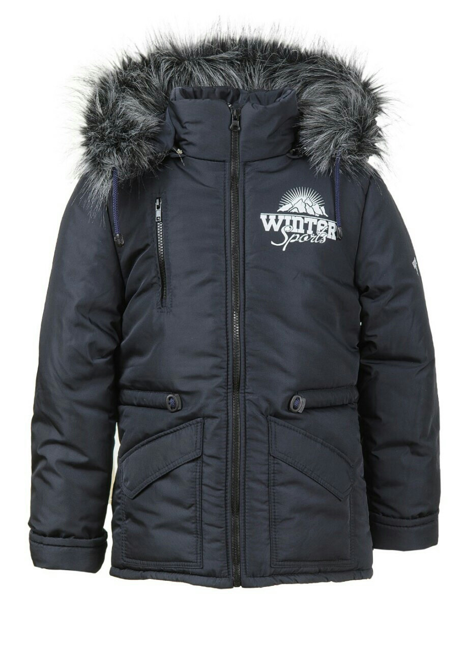 Куртка зимняя для мальчиков подростков
