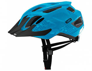 Велошолом ABUS MOUNTX Caribbean Blue (S)