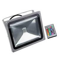 30W водонепроницаемый RGB LED прожектор 16 различных цветовых тонов с функцией памяти& Пульт дистанционного управления для наружного 05396366