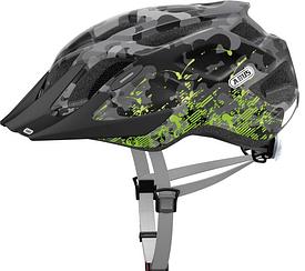 Велошолом ABUS MOUNTX Grey Camouflage (S)