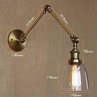 AC 100-240 40 E26/E27 Деревенский стиль Живопись Особенность for Лампа входит в комплект,Рассеянный настенный светильник 04746919