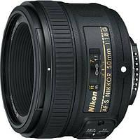 Стандартный объектив Nikon AF-S Nikkor 50mm f/1.8G