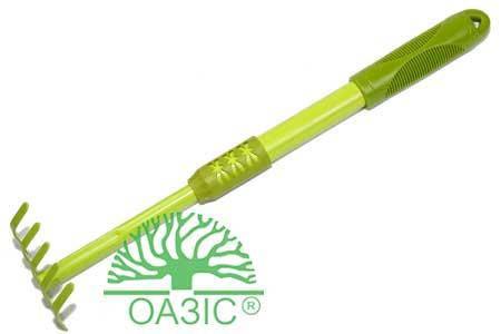 Граблі Культиватор з подовженою ручкою 43,5см х 8.5см 3550G ОАЗІС, фото 2