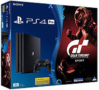 Sony PlayStation 4 (PS4) Pro 1TB + Gran Turismo: Sport