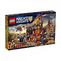 LEGO NEXO KNIGHTS Вулканическое логово Джестро (70323)