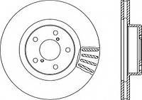 Комплект тормозных дисков OPEN PARTS BDA1493.20 (Subaru)