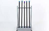 Подставка (стойка) для бодибаров RK4064 (металл, р-р 65х54х97cм)