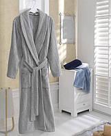 Soft cotton халат SORTIE L Gri серый