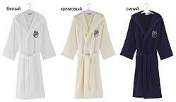 Soft cotton халат SOHO SPORT XL Ekru молочный