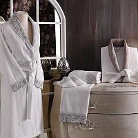 Tivolyo home халат FORZA  комплект для ванной комнаты