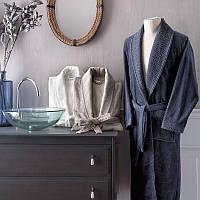Tivolyo Home халат мужской IRIS бамбук   XXL  темно-синий